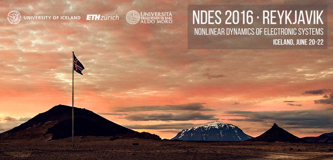 NDES 2016 in Reykjavik 20-22 June - Registration OPEN!